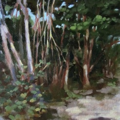 12. Gumbo Limbo, Oil on canvas $900