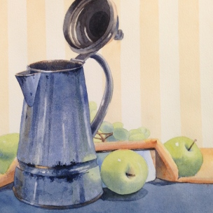 14. Old But Still Useful, Watercolor 16X12, SOLD