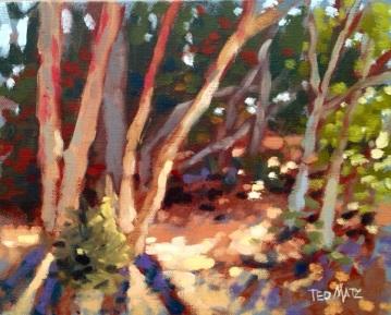 15. Jupiter Beach Lightshow, Oil on Panel, 8x10 $500