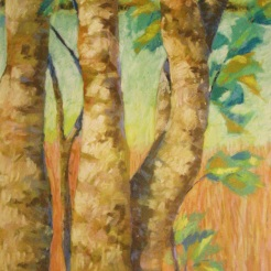 32. By the Okeeheelee Pond, pastel, 23x17, $900