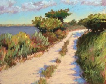 33. Loxahatchee Refuge, Pastel, 12x16, $700