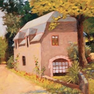 39. Provence, Oil on Panel, 12x16 $900