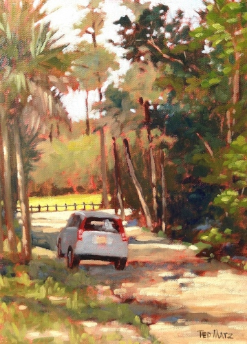 5. RiverBend, Oil on Panel,16x12 $900