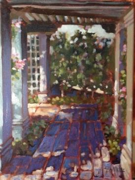 6. Society Four Arts, Oil on Canvas, 16x12 $900
