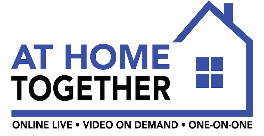 At Home Logo-Blue House PNG